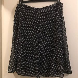 A cute black skirt